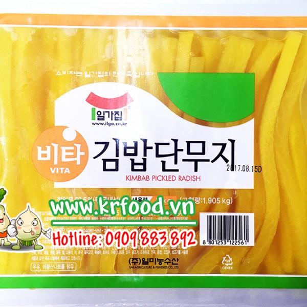 củ cải muối vàng hàn quốc